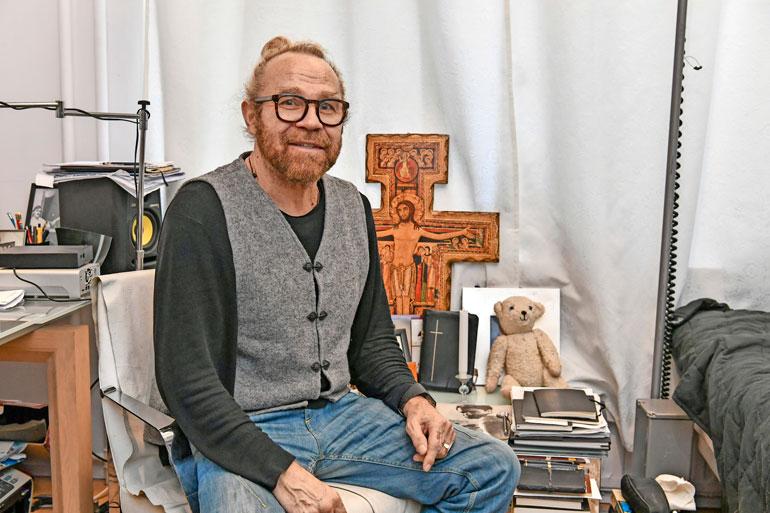Jussi Parviainen on tehnyt Jukan kanssa useita tv-ohjelmia. – Jussi on ehdottomasti lahjakkaimpia tuntemiani ihmisiä.