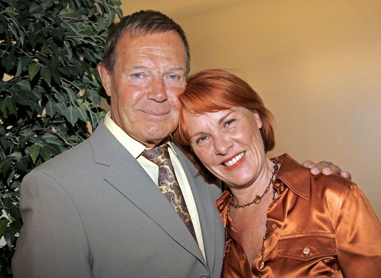 Heikki on naimisissa Pia Kahilan kanssa. Kuva vuodelta 2006.