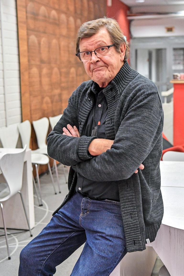 Heikki Kinnunen povaa Mielensäpahoittajalle pitkää tulevaisuutta, vaikka ei itse enää mukana olisikaan. – Aiheethan eivät lopu, jos kirjailija pitää vain mielen avoimena, hän sanoo.