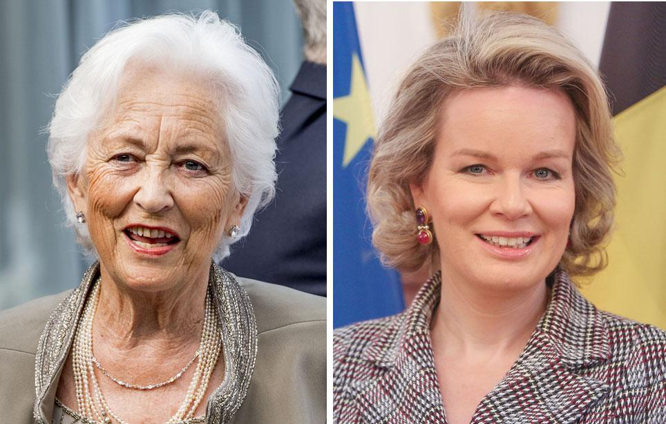 Belgian kuningattaret Paola ja Mathilde