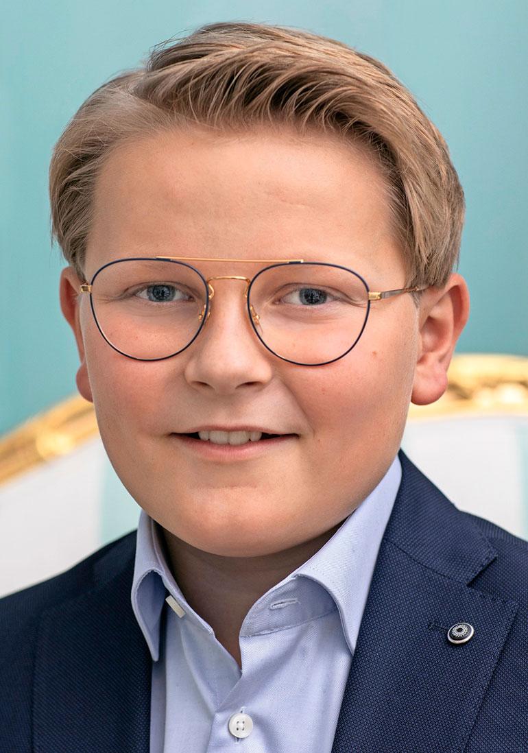 Norjan prinssi Sverre Magnus
