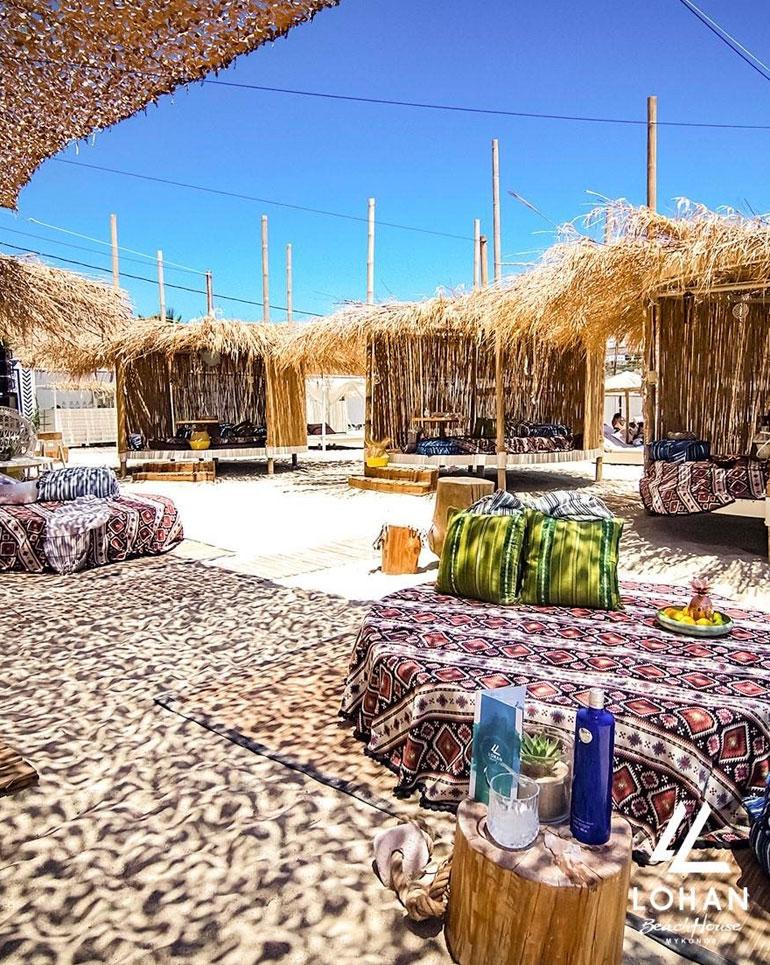Lindsay Lohan Beach Club Mykonos