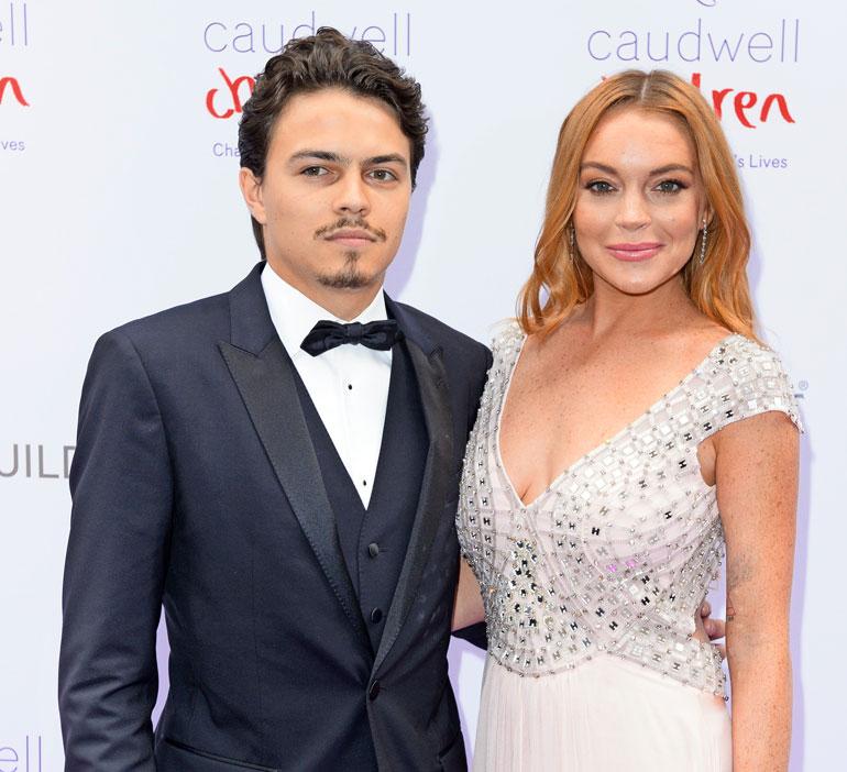 Lindsay Lohan ja Egor Tarabasov