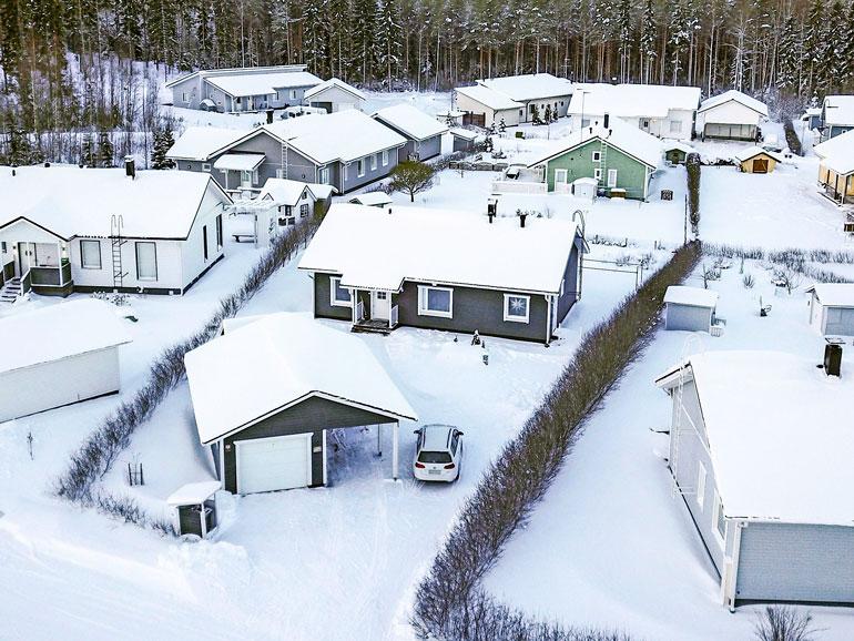 Sadun uusi koti sijaitsee perheiden suosimalla alueella Riihimäellä.