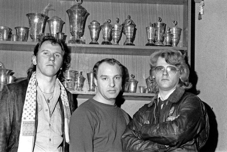 Hurriganesin legendaarisimpaan kokoonpanoon kuuluivat Remun lisäksi Cisse Häkkinen ja Albert Järvinen.