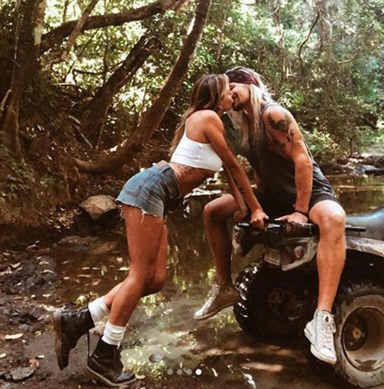 Olli ja Tytti kävivät syksyllä yhteisellä lemmenlomalla Meksikossa ja Costa Ricassa.
