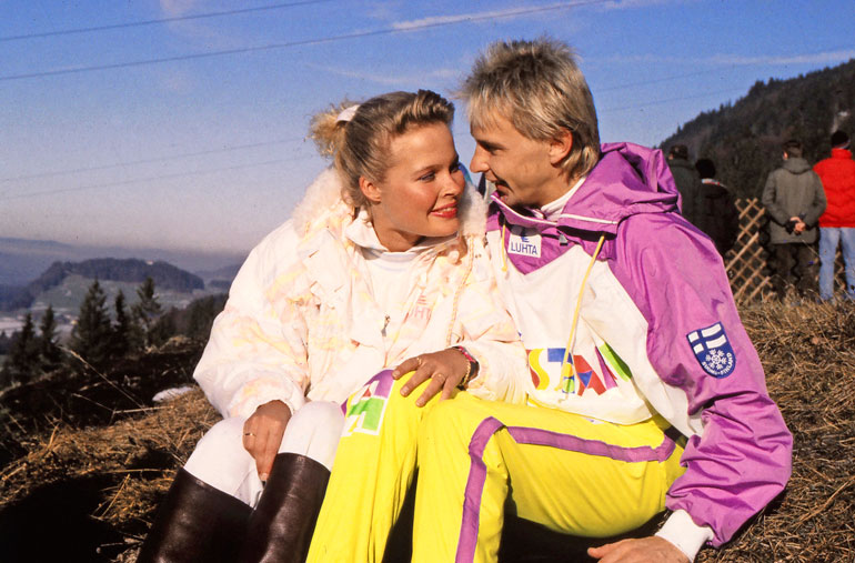 Pia Hynnisen kanssa Matti sai toisen lapsensa, Eveliinan.