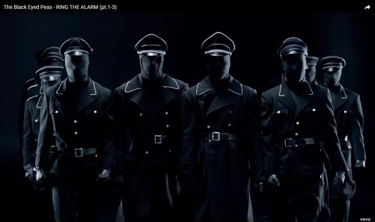 ...ja Black Eyed Peas -yhtyeen Ring the Alarm -video näyttää tältä!
