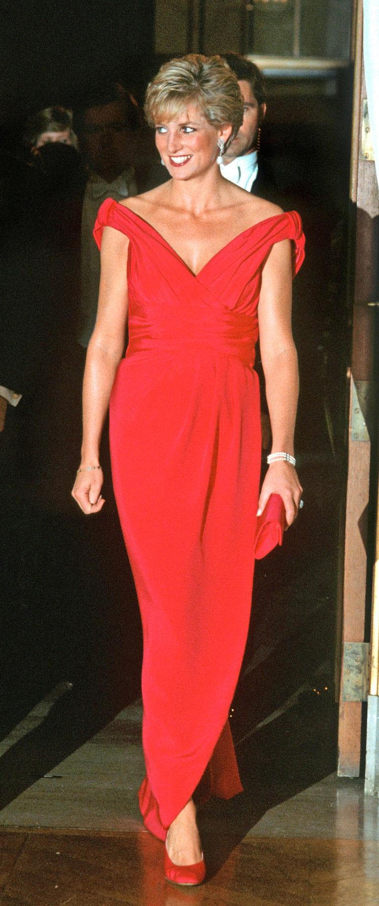 Prinsessa Diana vuonna 1990.