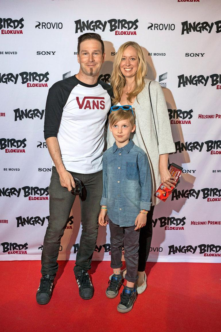 Daruden perheeseen kuuluu Michelle-vaimo ja Max-poika.