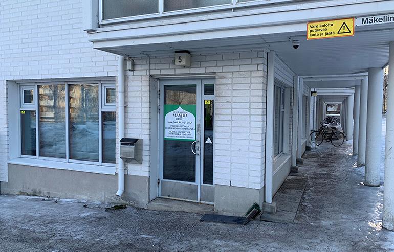 Tähän rukoushuoneeseen Oulussa kohdistui varhain tiistaina 26.2.2019 vahingonteko.