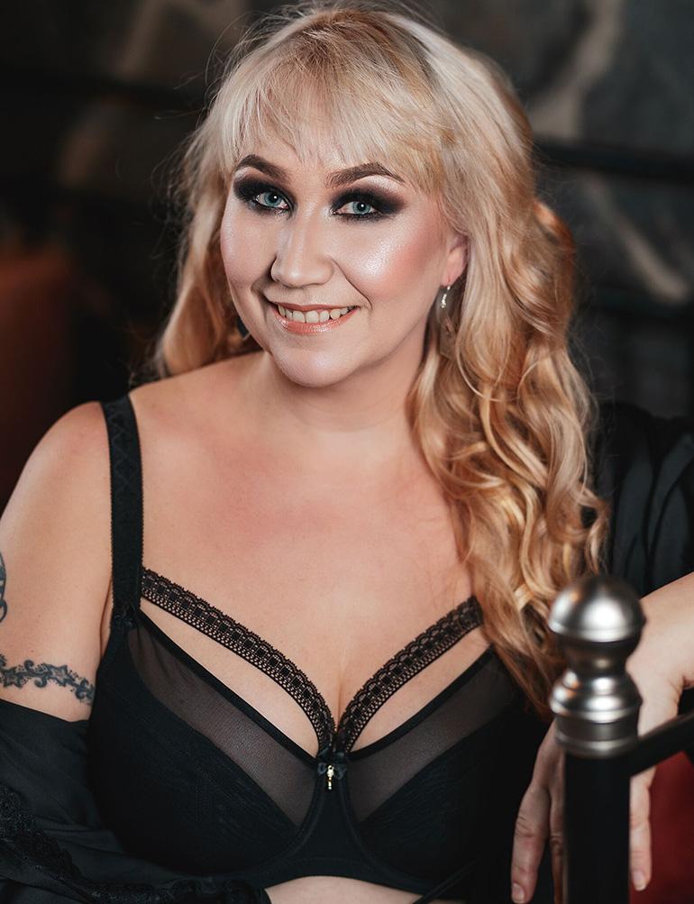 Lea Mansikkaviita, Miss Plus Size 2019.