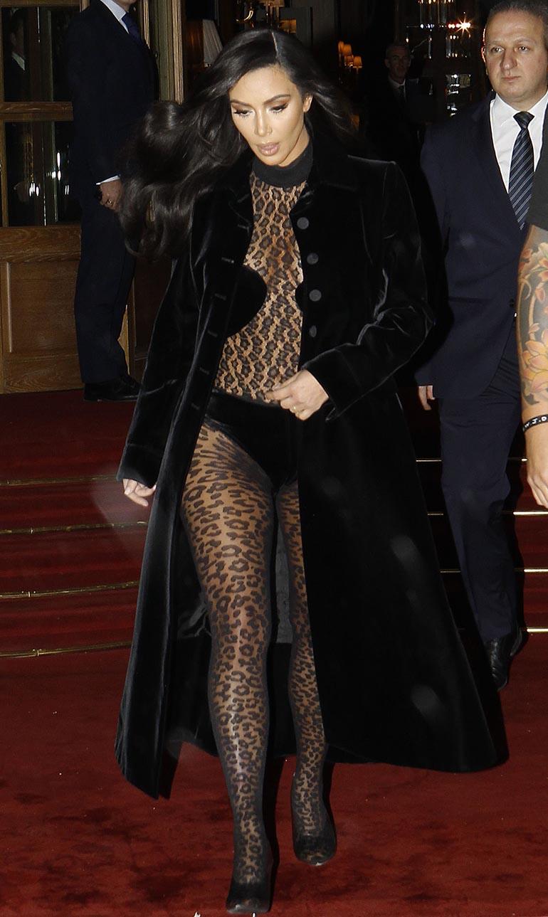 Kim Kardashian Pariisissa.