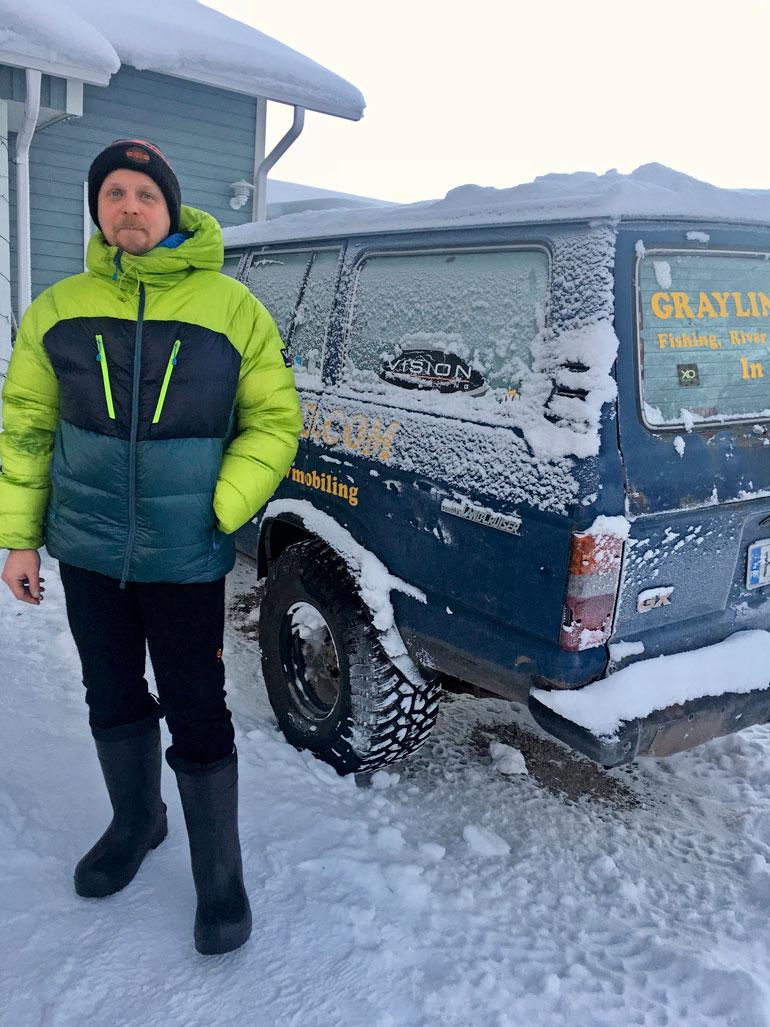 Aki Huhtanen selvisi säikähdyksellä luonnon lumipesukoneesta. – Silloin tajusi, ettei luonnon kanssa ole leikkimistä. Sitä pitää kunnioittaa.