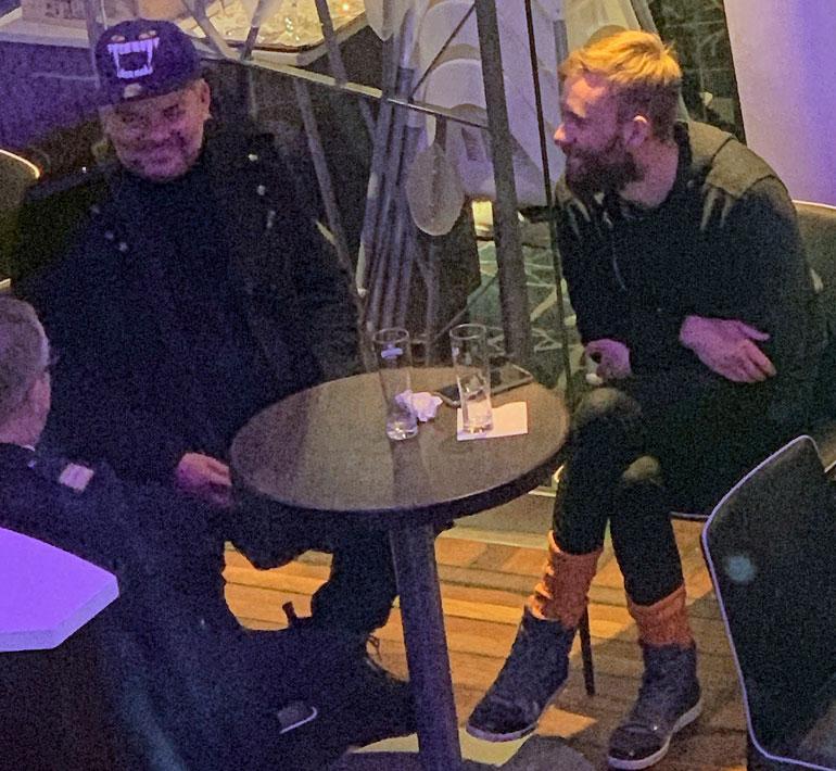 Jari Sillanpää risteilyllä.