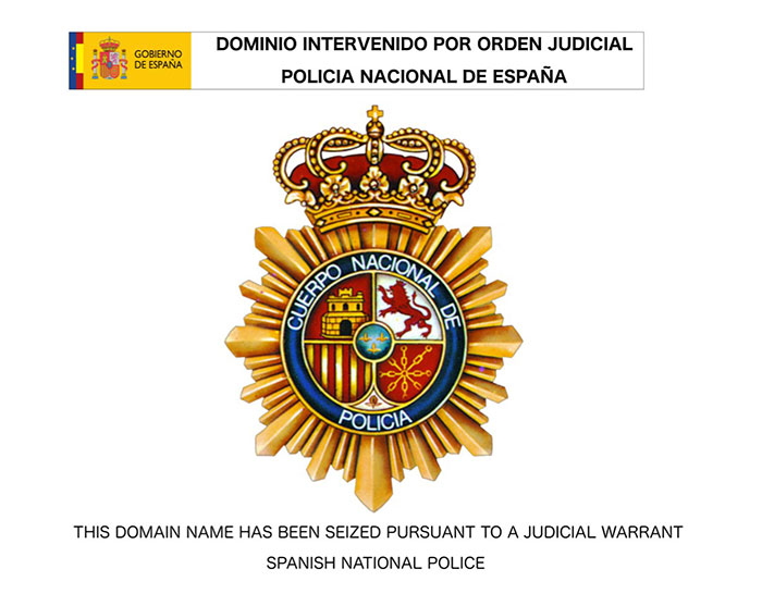 Espanjan poliisi