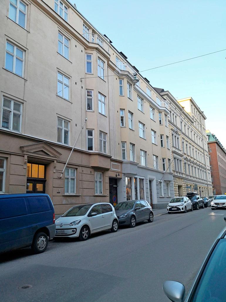 Antti Luusuanniemen talo.