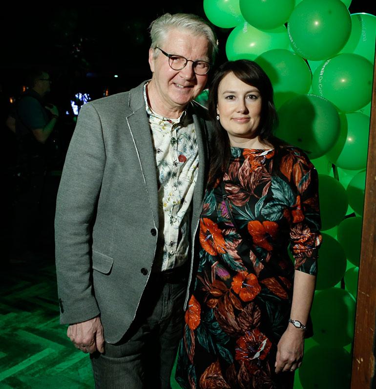 Pirkka-Pekka Petelius ja Erika-kihlattu