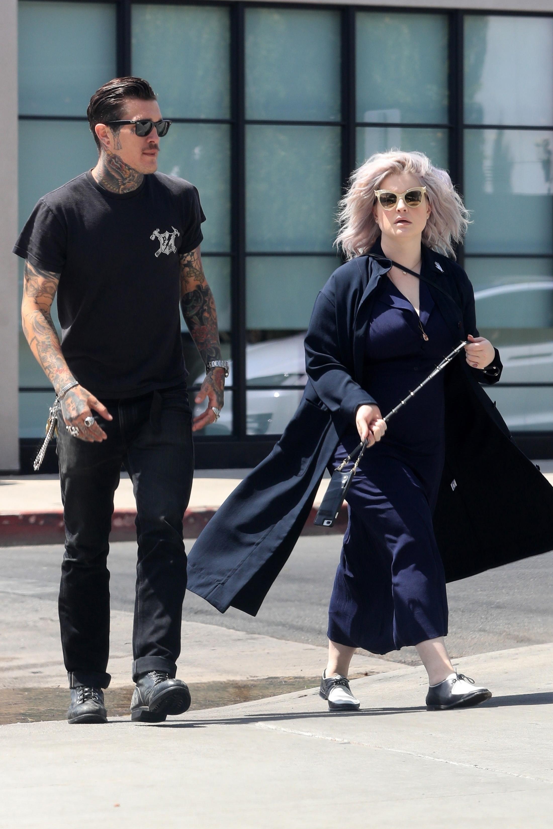Kelly Osbourne ja mysteerimies