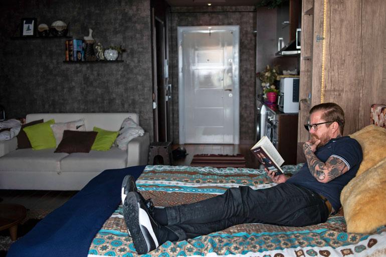Wallun asunto Avsallarissa on kompakti ja käytännöllinen.