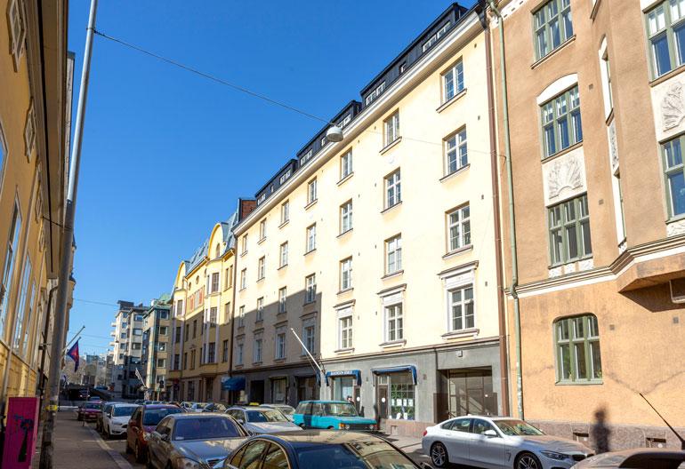 Andrei Koivumäen kotitalo.