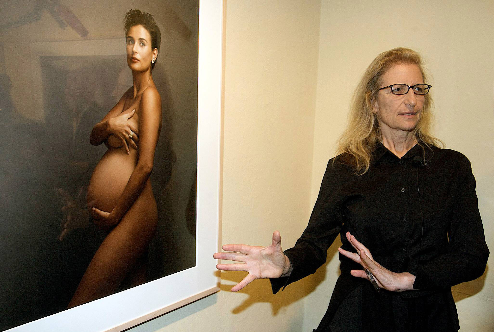 Demi Moore -raskauskuva