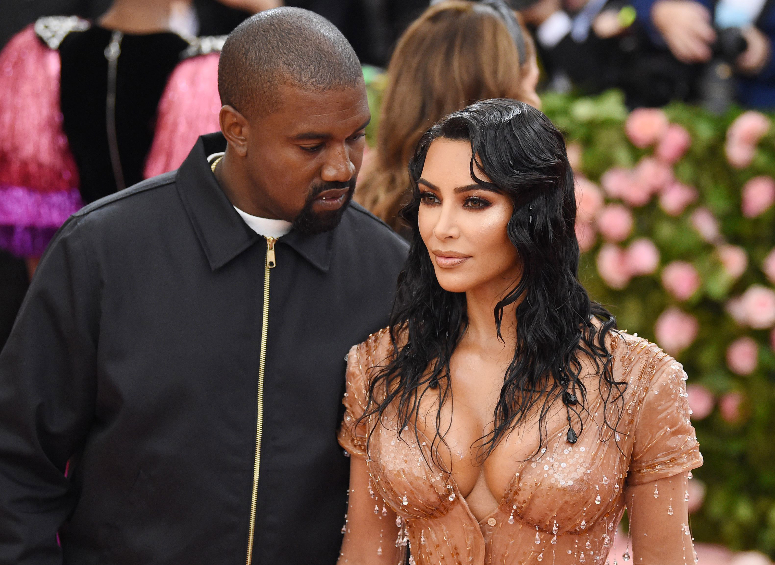 Kim ja Kanye Met-gaalassa