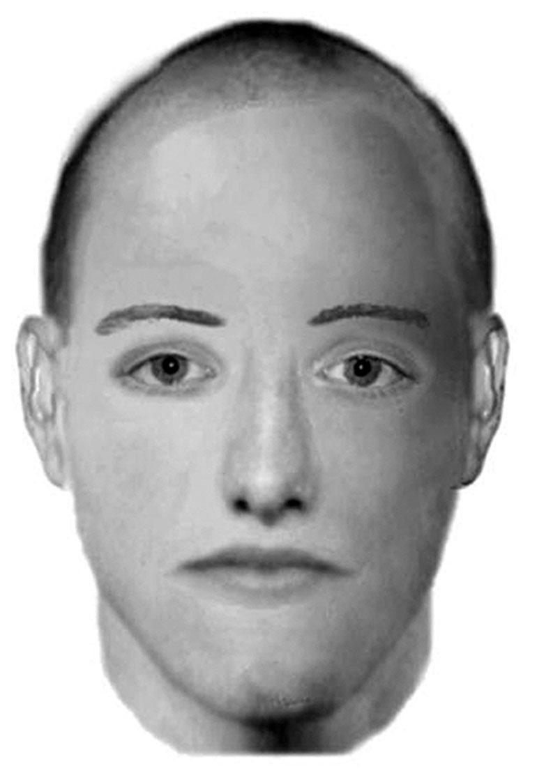 Poliisin vuonna 2013 piirtämä hahmotelma, jolla tekijää etsittiin.