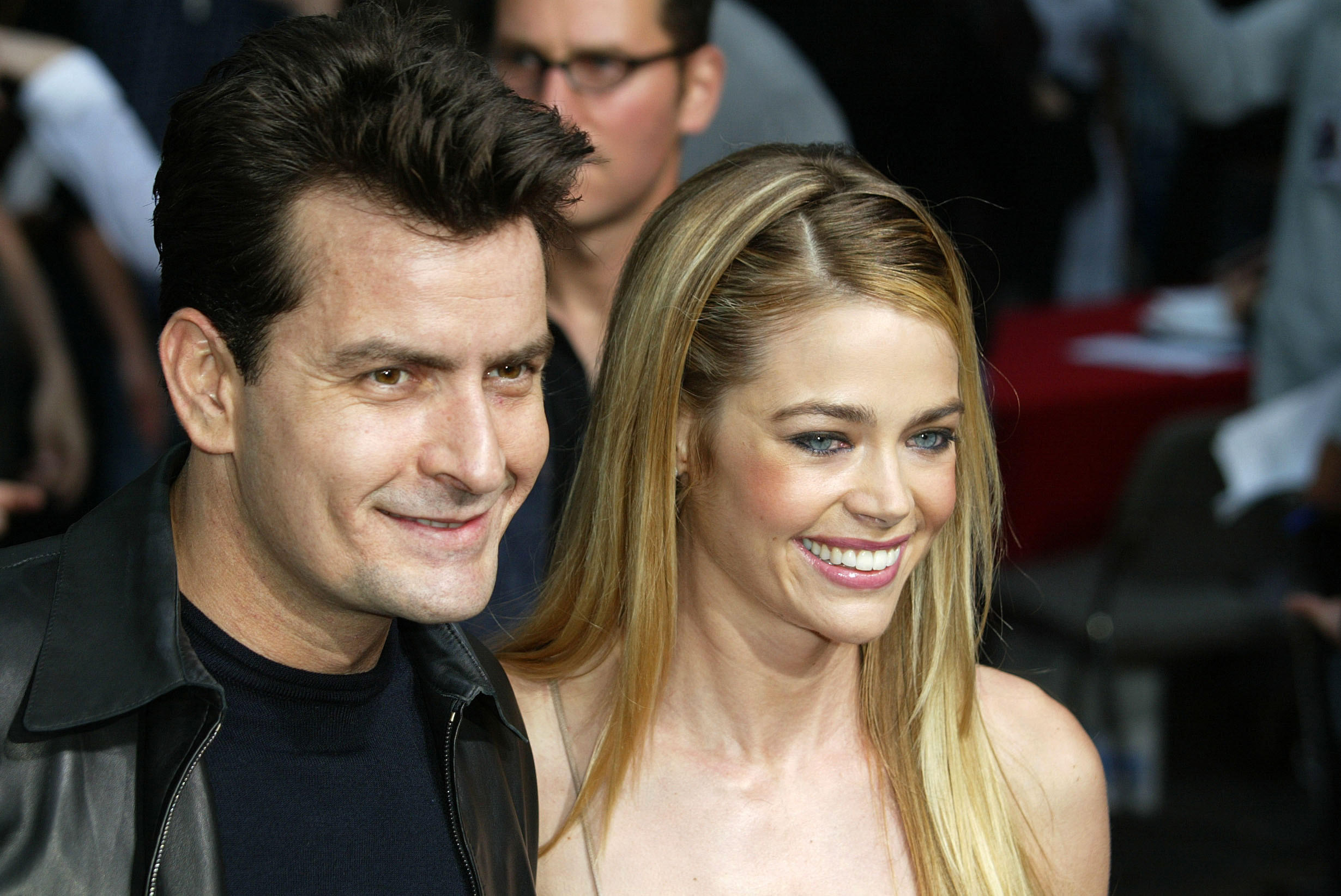 Charlie Sheen ja Denise Richards