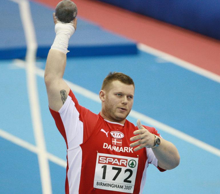 Tältä Joachim B. Olsen näytti urheilu-uransa aikana. Kuva vuodelta 2007.