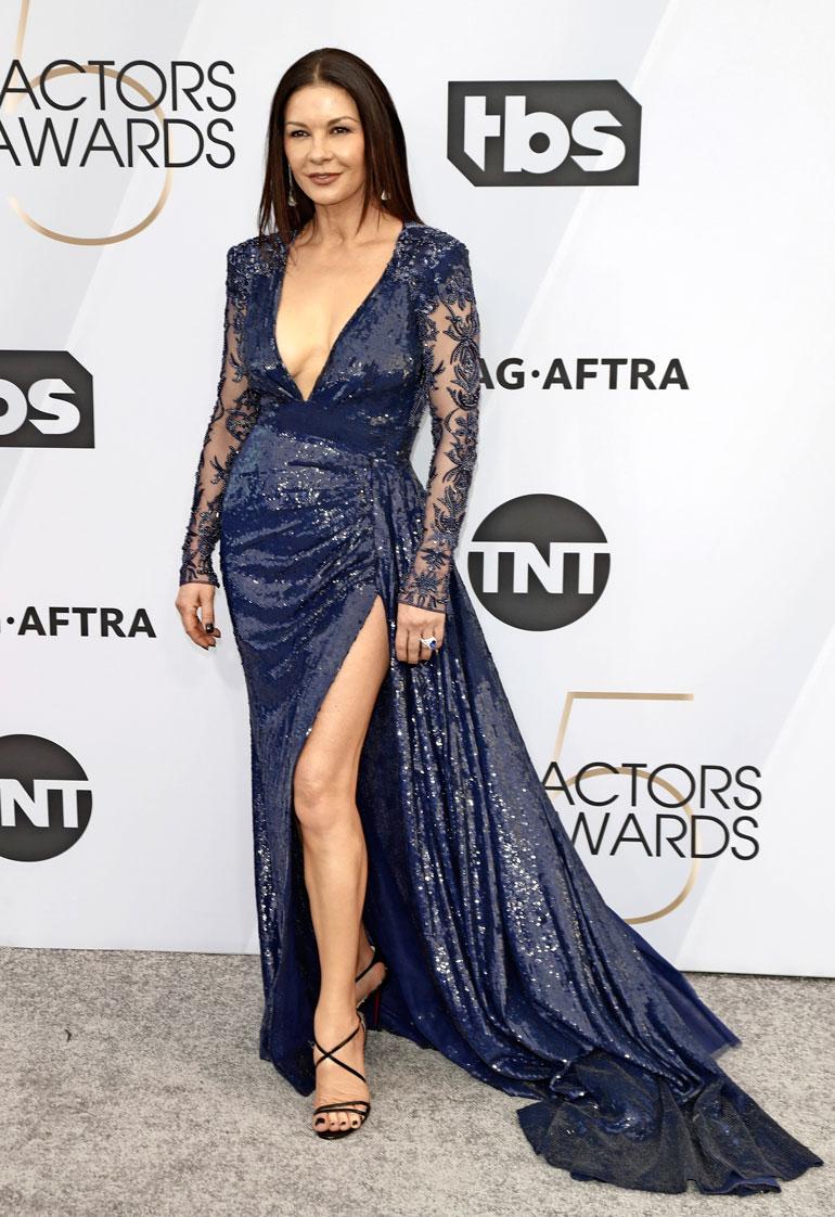 Catherine Zeta-Jones vuonna 2019.