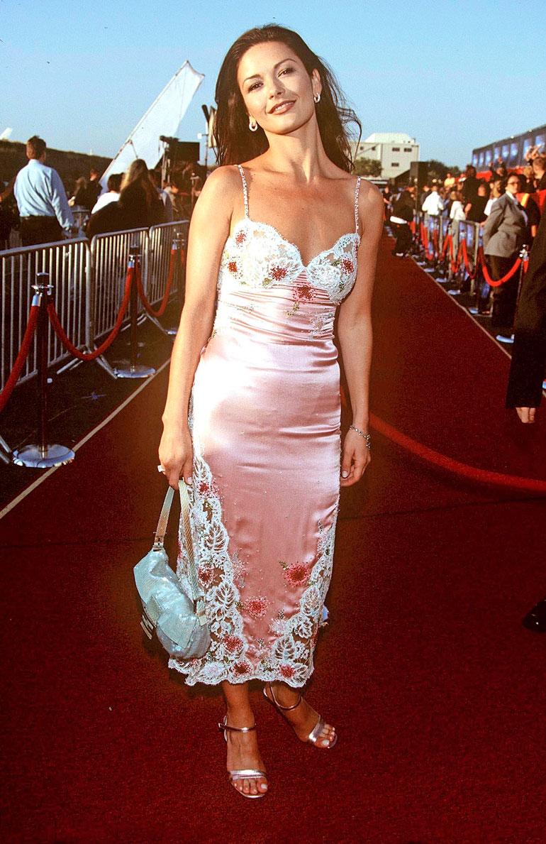 Catherine Zeta-Jones vuonna 1999.