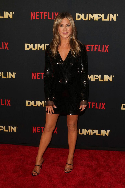 Jennifer Aniston vuonna 2019.