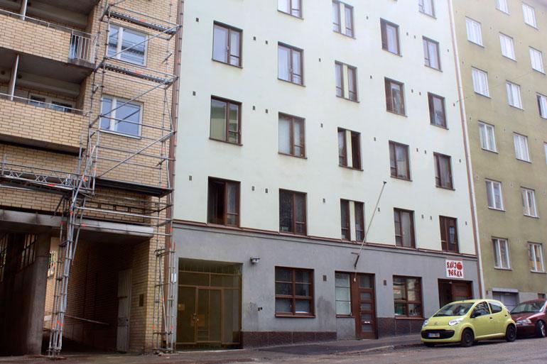 Sofi asuu Sörnäisissä, joka tuli aikoinaan tutuksi työväen suosimana asuinalueena.