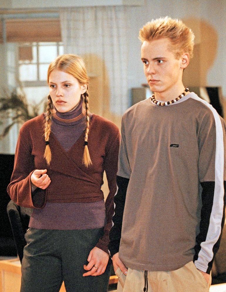 Tältä Jonna näytti aloittaessaan Salkkareissa. Hän näytteli sarjassa vuosina 1999–2002.