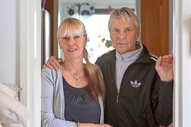 Matin leski Pia Nykänen jäi asumaan pariskunnan yhteiseen kotiin Joutsenoon.