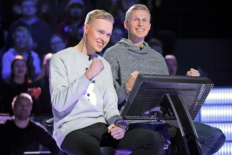 Roni kilpailee syksyllä nähtävässä jaksossa yhdessä tubettaja- veljensä Miklun kanssa.