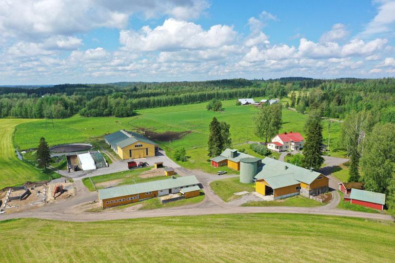 Jari Leppä omistaa maatilan.