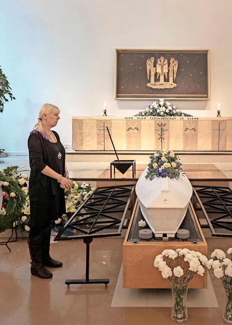 Matti Nykänen haudattiin Jyväskylään maaliskuun alussa.