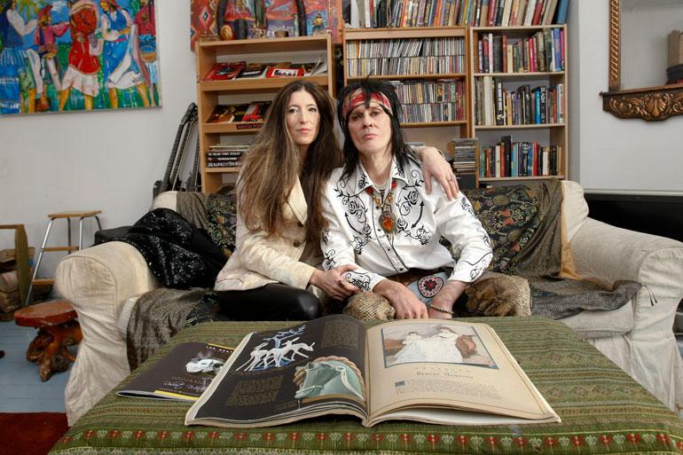 Andy ja Angela esittelivät kotinsa Seiskalle vuonna 2013.