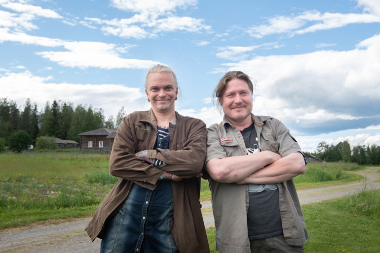 Sasu Kerman ja Jani Heikkilä kirjoittavat käsikirjoituksen yhdessä. Kaksikko on tehnyt yhteistyötä aiemminkin.