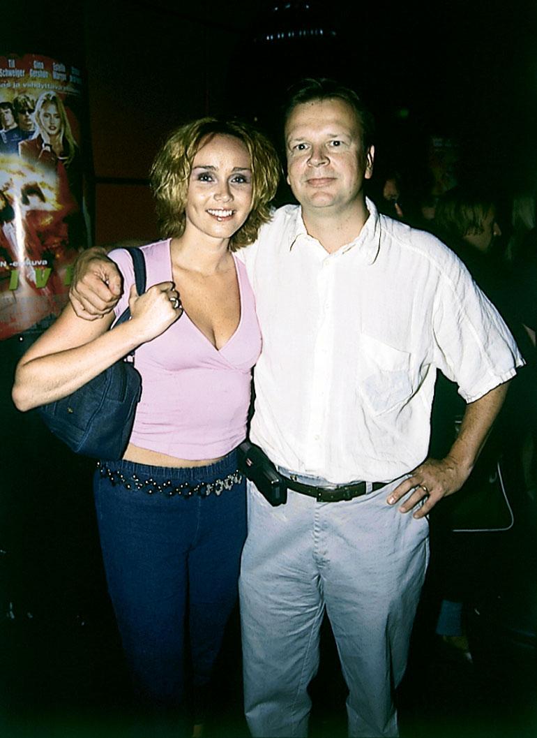 Jari ja Anitra Ahtola olivat yhdessä 1990-luvulla.