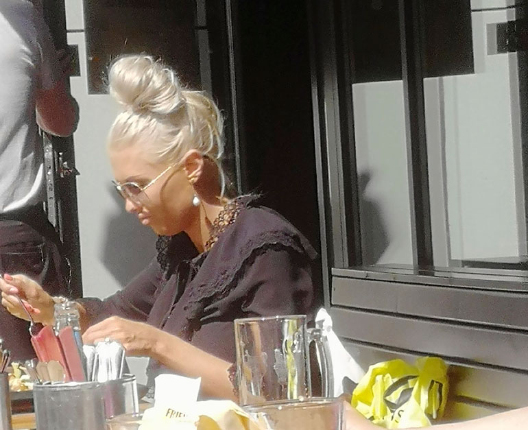 Maisa Torppa Tallinnassa.