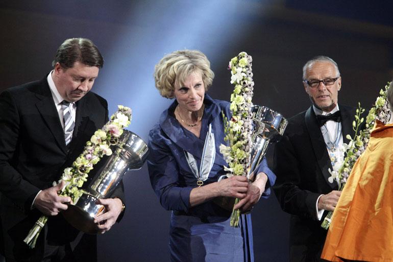 Vuonna 2011 Lasse nimettiin Suomen urheilun Hall of Fameen. Jari Kurri ja Liisa Kirvesniemi saivat saman kunnianosoituksen.