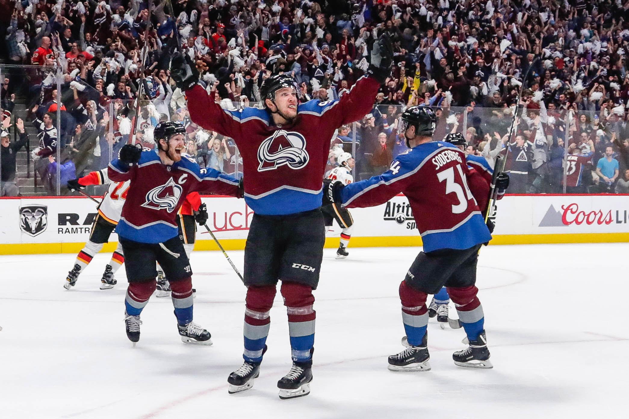 Rantanen kuuluu Avalanchen ja koko NHL:n kovimpiin voimahyökkääjiin.
