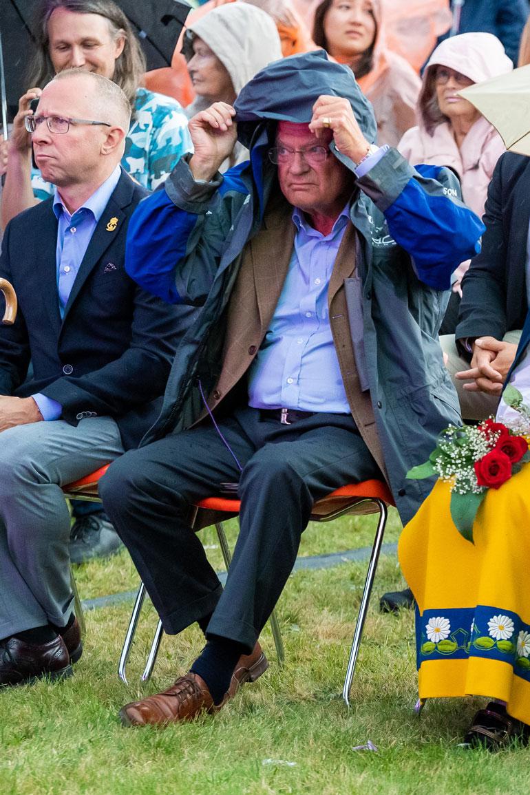 Ruotsin kuningas.