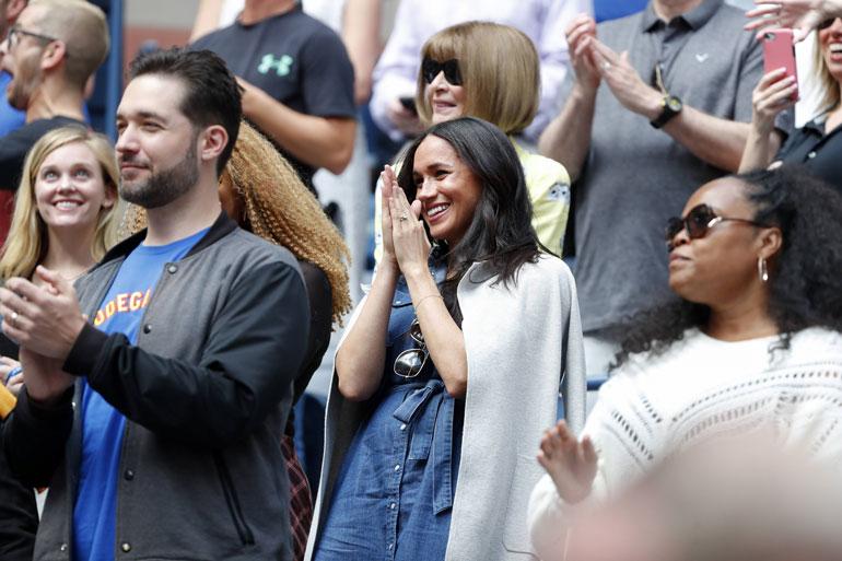 Brittien mielestä Meghanin läsnäolo tuo huonoa onnea muun muassa tenniskatsomoihin.