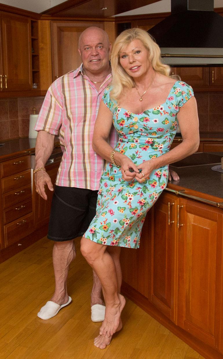 Tape muutti pariskunnan hulppeasta Viron-asunnosta Vantaalle.