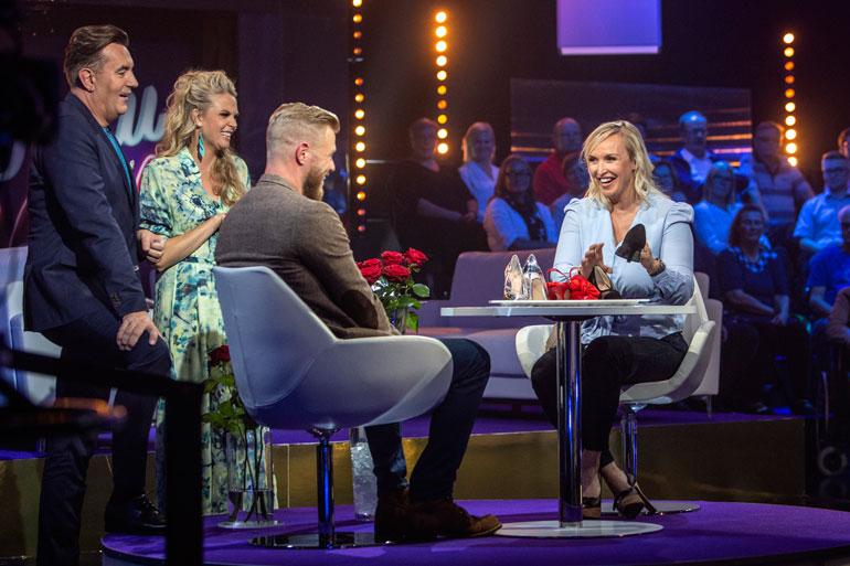 Jutta ja Juha osallistuivat hiljattain MTV:n Tuttu Juttu Show'n kuvauksiin.