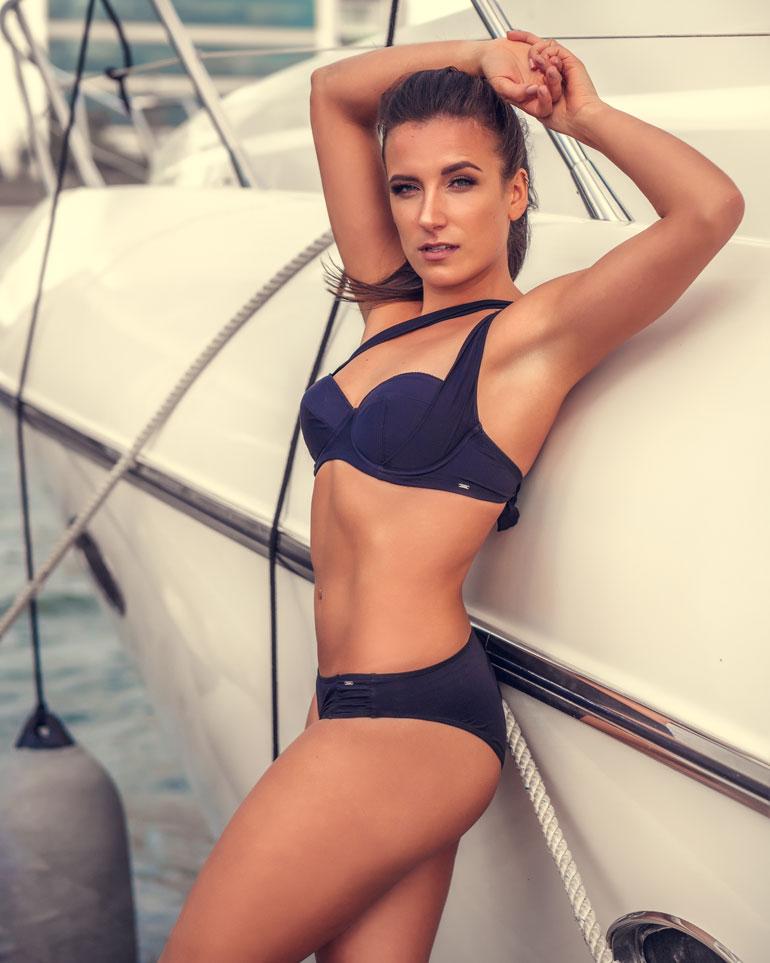 Viime vuoden Miss Helsinki -kauneuskilpailussa urheilullisen Viivin vartalo palkittiin syystäkin koko missifinaalin parhaana.